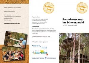 Flyer Baumhauscamp 2014  Seite 1