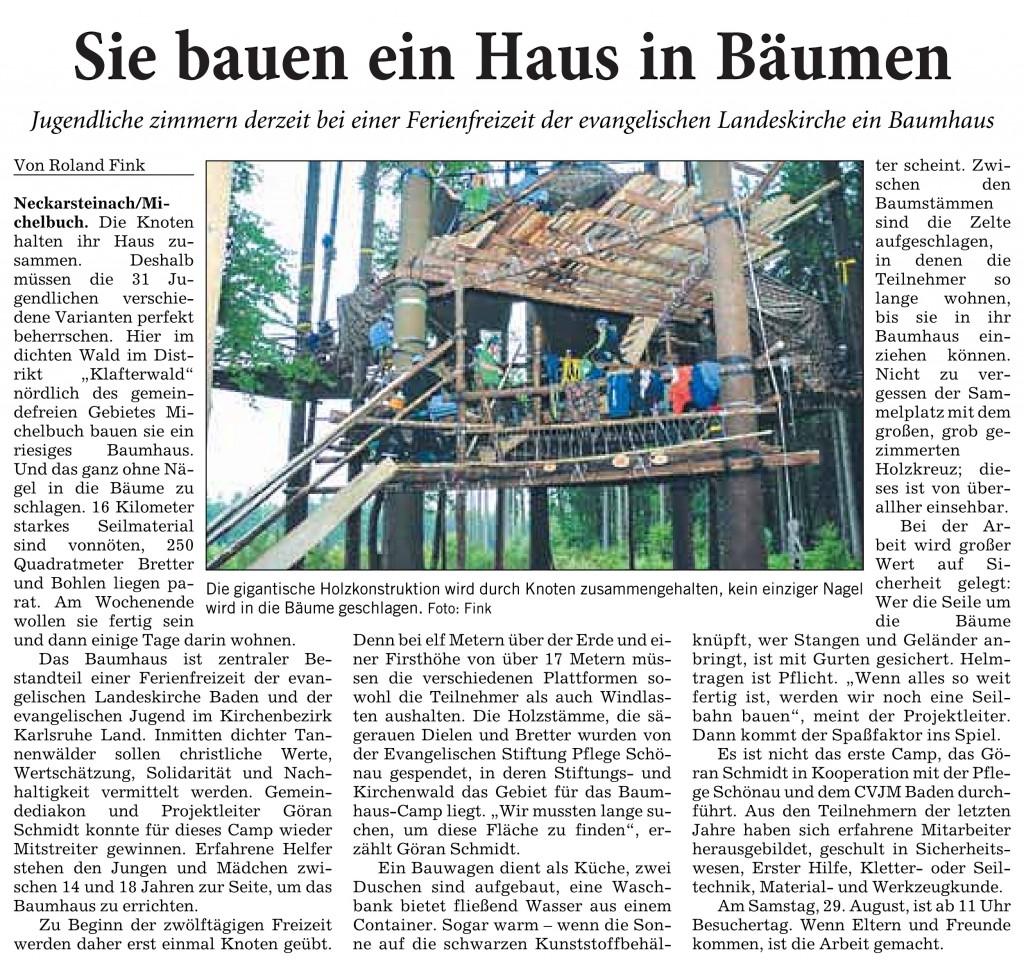20150827_RNZ_Sie bauen sich ein Haus in Baeumen